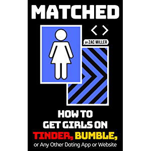 MATCHED: How to Get Girls on Tinder, Bumble, or Any Other Dating App or Website