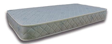 Colchón de MUELLES con LATEX La Cigüeña para CUNA de 60x120 (Altura/Grosor 16