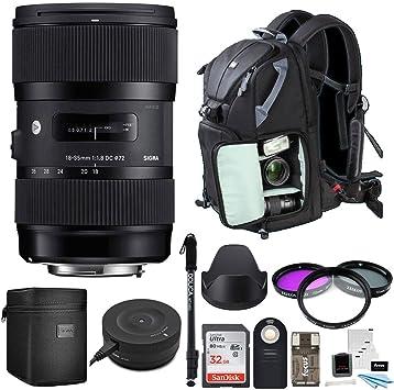 Amazon.com: Sigma 18 – 35 mm F1.8 DC HSM cámaras DSLR de ...