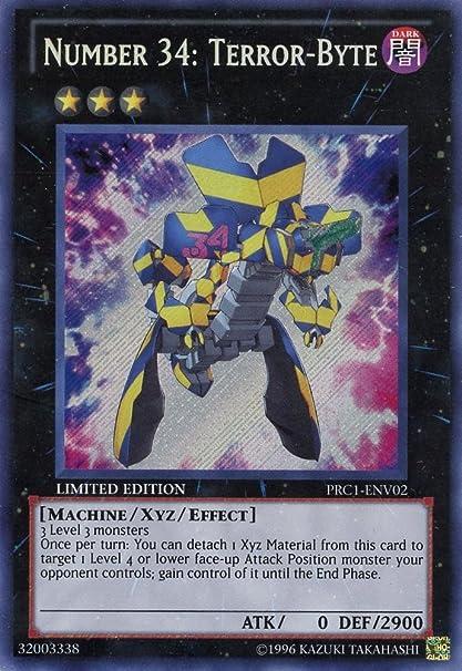 Ultimate Rare Japanese Near Mint 5ZK GENF-JP041 Number 34: Terror-Byte