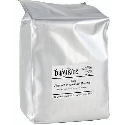 BabyRice - Kit de iniciación de materiales de fundición para bebé, 500 g de cada instrucciones (idioma español no garantizado): Amazon.es: Hogar