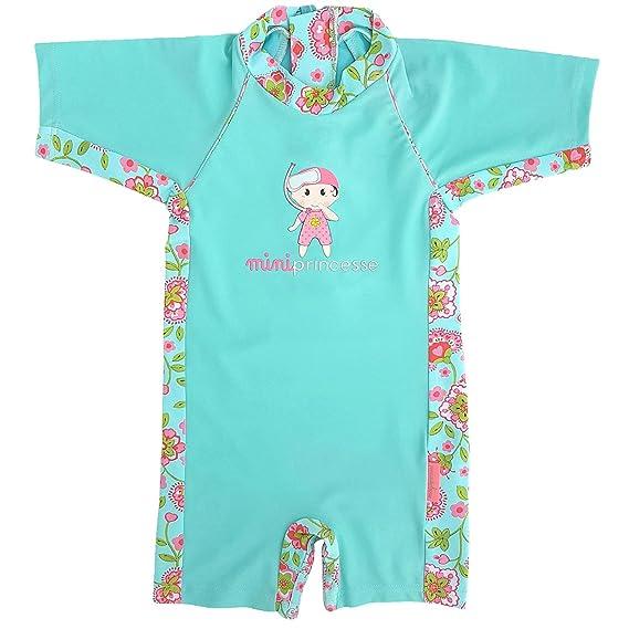 4da6471c73 MayoParasol - Mini Princesse Combinaison Maillot Anti UV: Amazon.fr:  Vêtements et accessoires