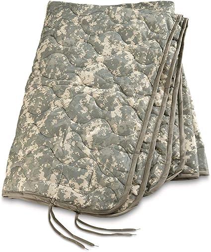 US Military Army ACU Digital Wet Weather PONCHO LINER Woobie Blanket Good