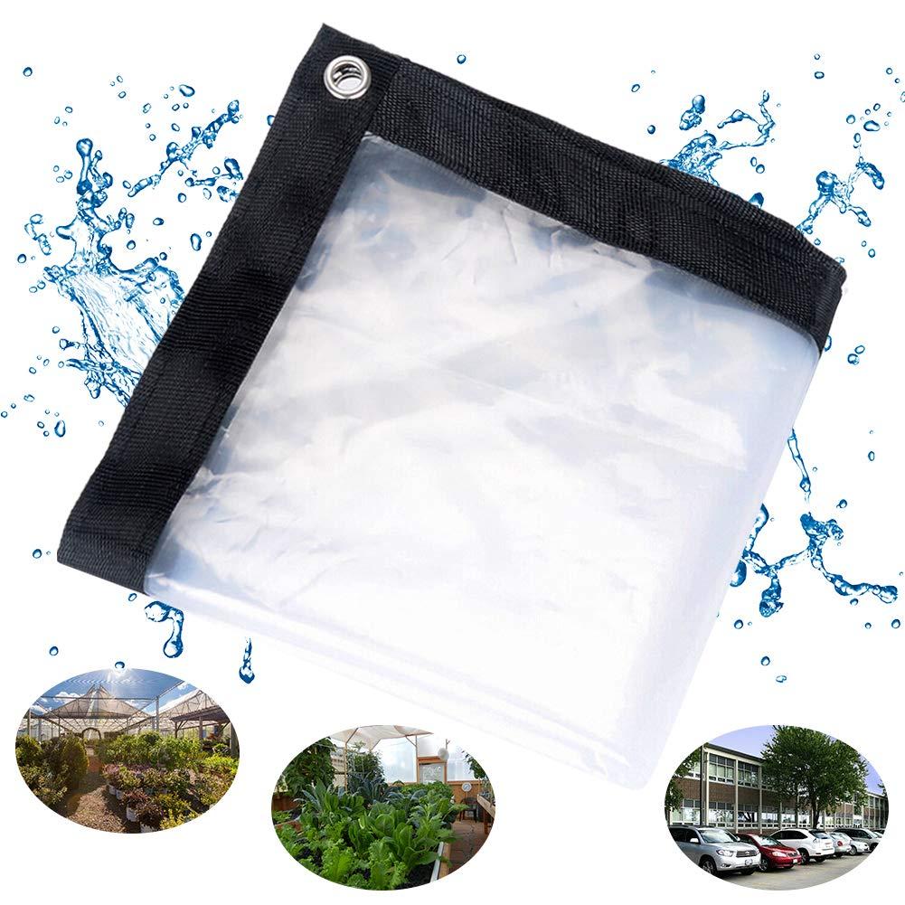 Moonvvin antiedad Lona de lona transparente a prueba de polvo resistente al agua resistente al agua y a prueba de aceite