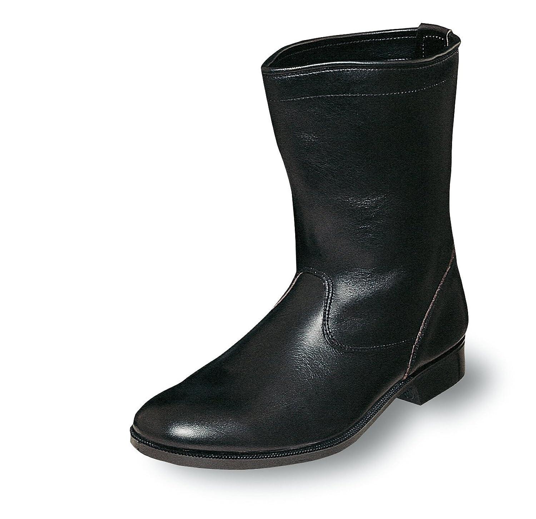 柔らかく耐滑性に優れた消防レンジャー靴 ノーマルブーツ 牛革製【消防作業靴】《004-M312》 B007NZ0HHG 27.5 cm