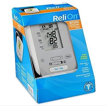 Amazon.com: ReliOn reli-on – Tensiómetro automático hem-741 ...