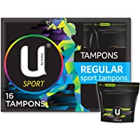 U by Kotex Sport Tampons, Regular (Pack of 16)