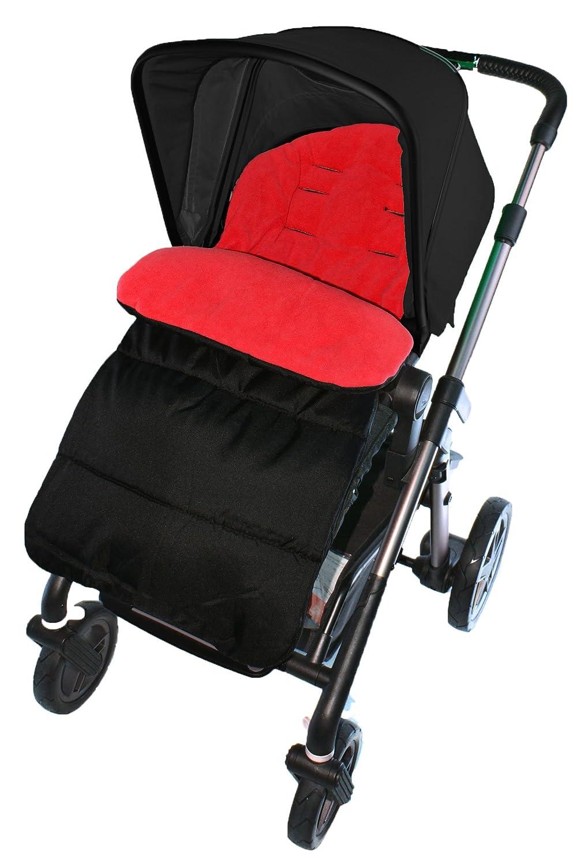 Saco/Cosy Toes Compatible con Concord carrito, color rojo