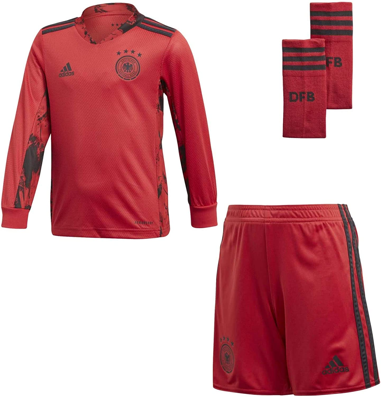 alivio Maldición Deber  Amazon.com : adidas 2020-2021 Germany Home Goalkeeper Mini Kit : Clothing