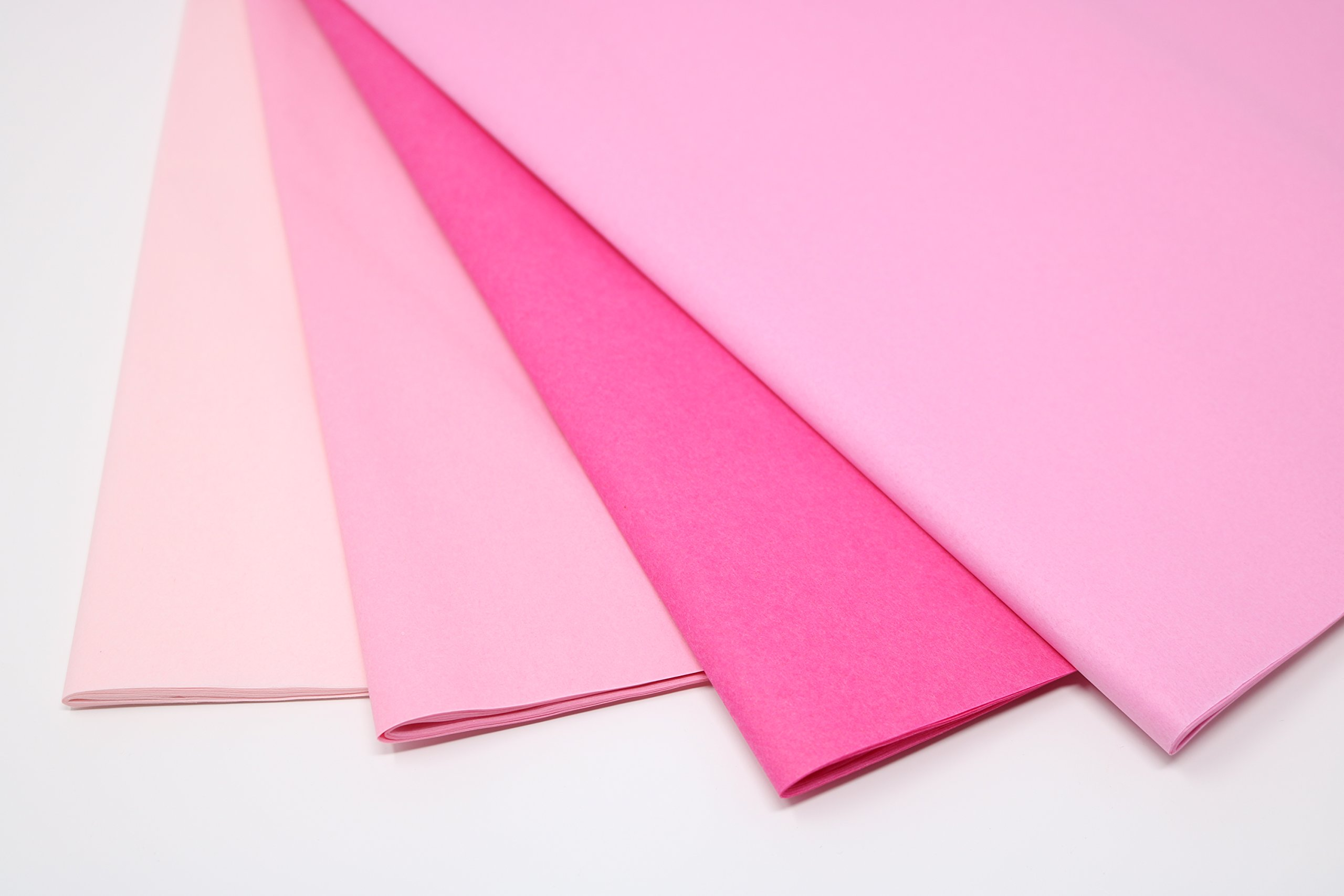 Pink Mix 1 - Gift Wrapping Tissue Paper 96 Sheets 15'' x 20'' | Colors of Rainbow