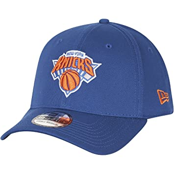 4c6e1d3e49fe0 New Era Casquette 39Thirty Knicks Casquette Fitted Cap (XS/S - Bleu ...