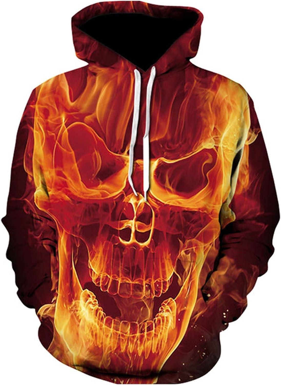 Men Custom Unisex Sweatshirt 3D Printed Pullovers Hoodies Plus Size Casual Hooded Sweatshirt,7,L