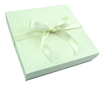 Unbekannt Geschenk Verpackungen 200 X 200 X 60 Mm Mit Satin