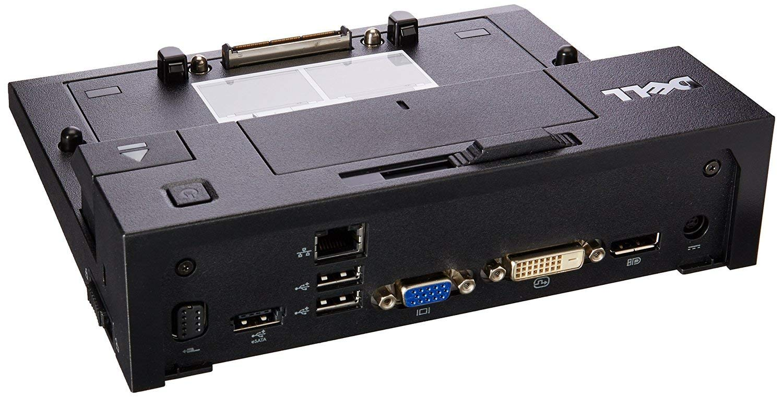 Renewed Dell ACDEPR03X PR03X-USB2 E-Port Replicator Docking Station Dell E Series Notebooks