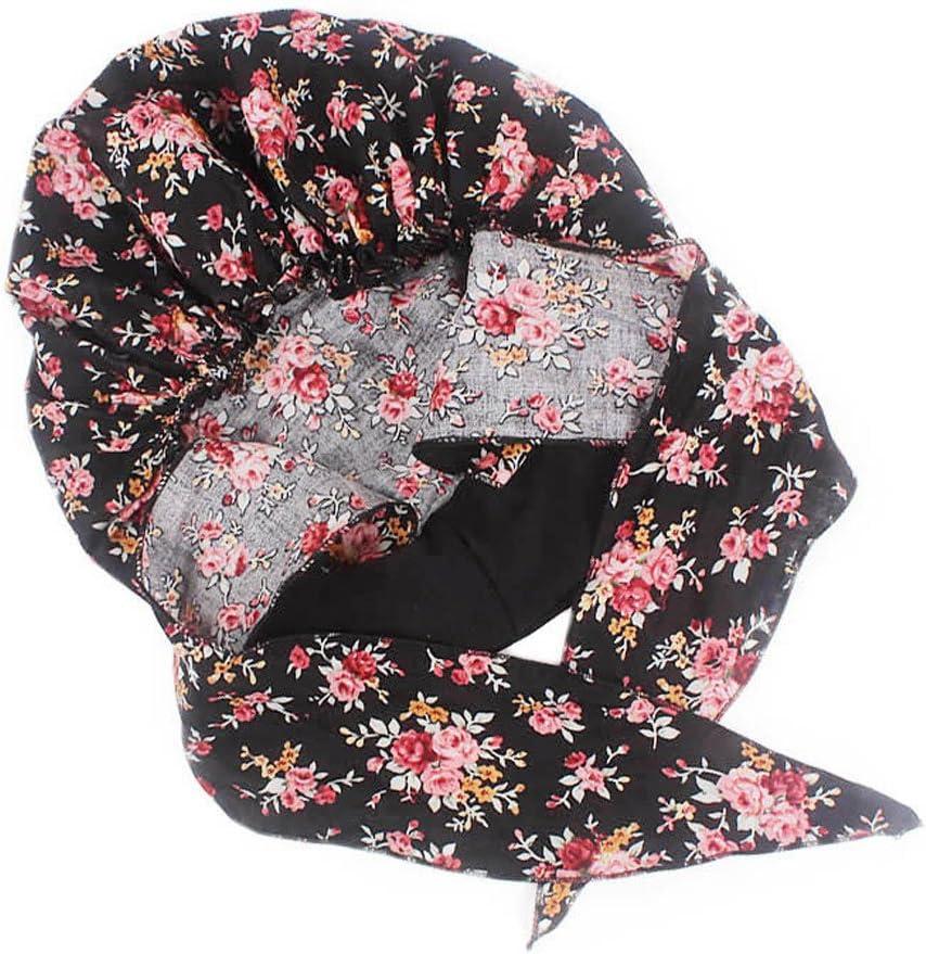 FlyHigh Hat Womens Chemo Hat Turban Kopft/ücher Pre-Tied Headwear Bandana Elastic Band Soft