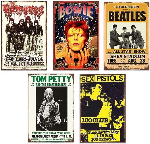 The Doors Classic Rock Music Band Morrison Wall Decor Man Cave Metal Tin Sign