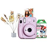 Fujifilm Instax Mini 11 Bundle – Lilac Purple