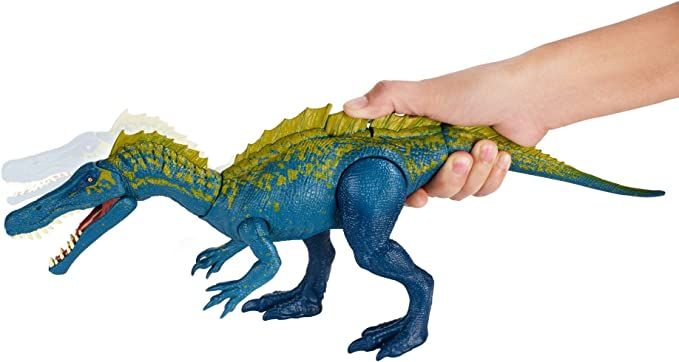 Jurassic World Dinosaurio Suchomimus de ataque, dinosaurio de ...