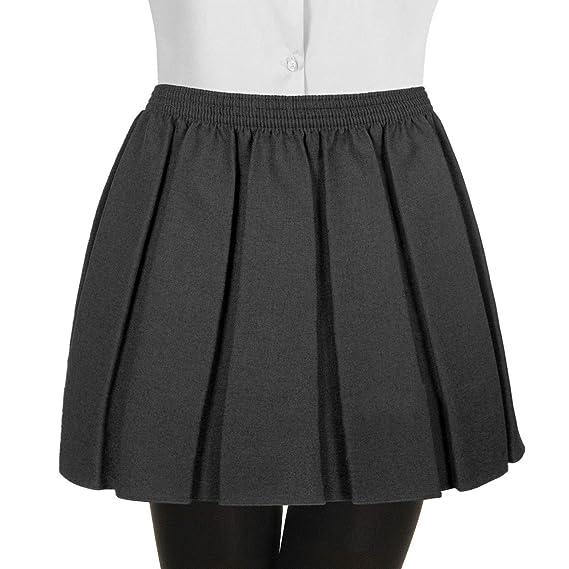 Gutsy Falda de Cintura elástica Completa para Uniforme Escolar ...