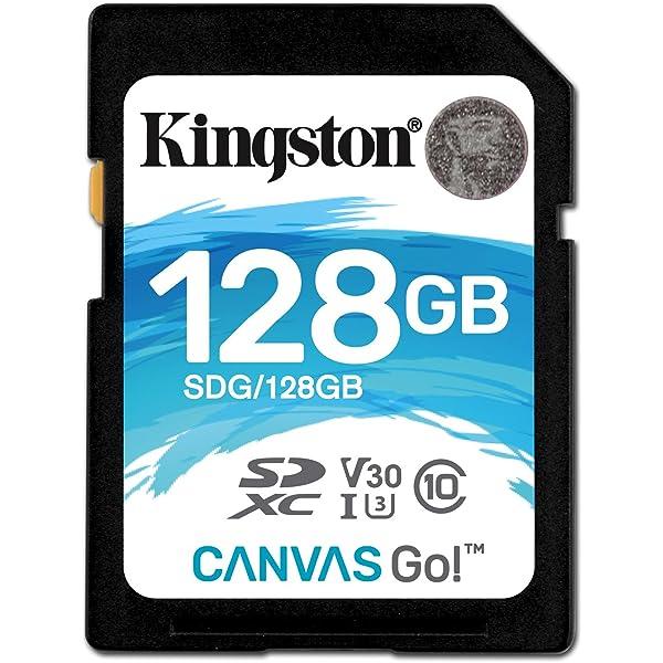 Kingston SD Canvas Go - Tarjeta de Memoria SD Clase 10 SDHC ...