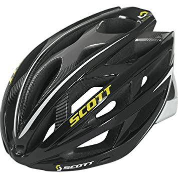 Scott Wit-R CE Casco, Unisex Adulto, Negro/Blanco, S