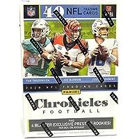 $42 » 2020 Panini Chronicles Football 8-Pack Blaster Box (40 NFL Trading Cards)