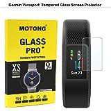 MOTONG Garmin Vivosport Smart Watch Screen Protector - MOTONG Tempered Glass Screen Protectors For Garmin Vivosport Smart Watch,9 H Hardness,0.3mm Thickness,Made From Real Glass