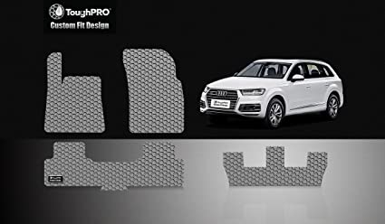 Amazoncom ToughPRO Audi Q Rd Row Floor Mats All Weather - Audi 3rd row
