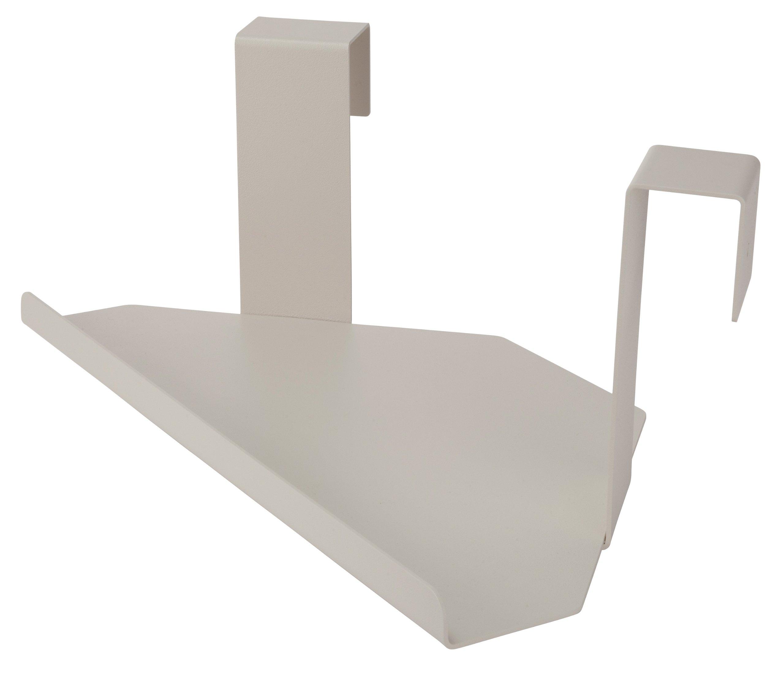 MIDE Products 23CST-1 Aluminum Corner Shelf, Tan