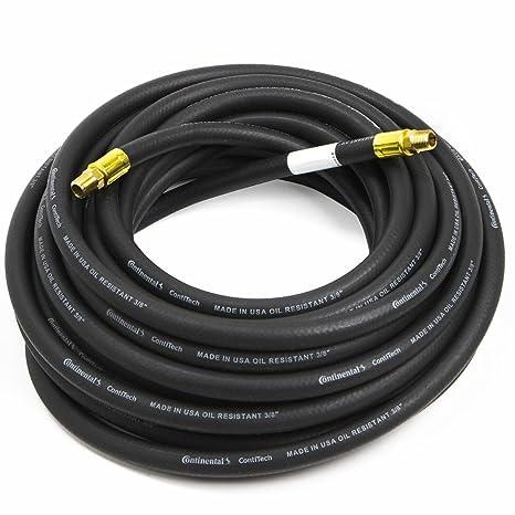 Manguera de goma para compresor de aire, color negro, 1,9 x 127 cm: Amazon.es: Bricolaje y herramientas