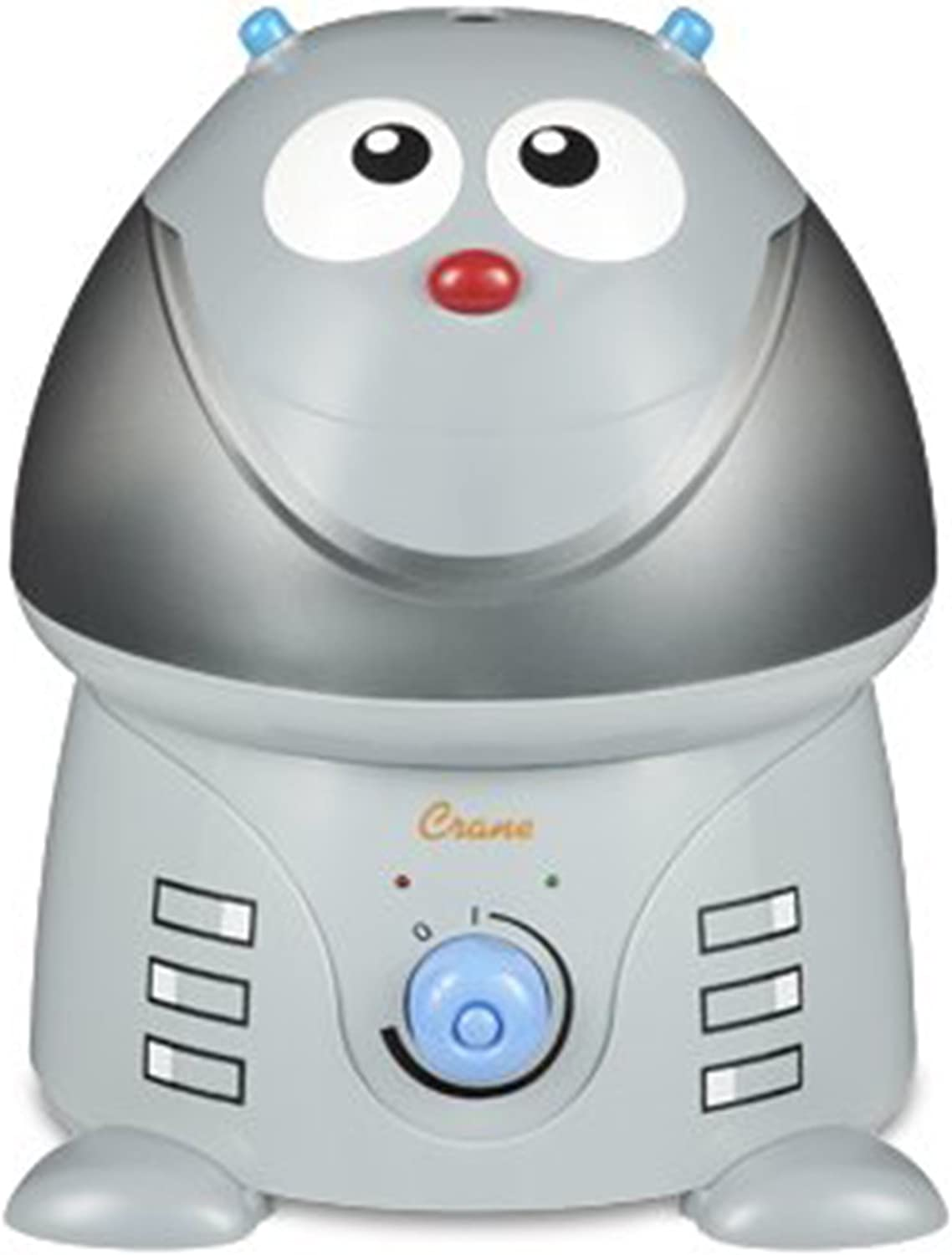 Crane USA Filter-Free Cool Mist Humidifiers for Kids, Robot