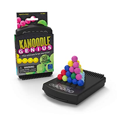 Educational Insights Kanoodle Genius | Brain Twisting 3-D Puzzle Game for Kids, Teens & Adults | Featuring Over 200 Challenges: Toys & Games