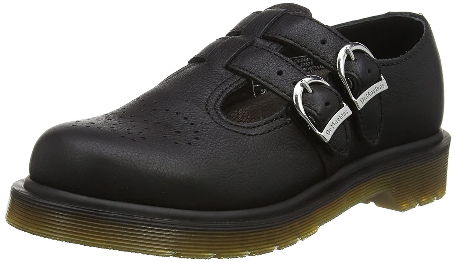 Dr. Martens 8065 PW Black Virginia, Mary Jane Donna  Nero (Black)