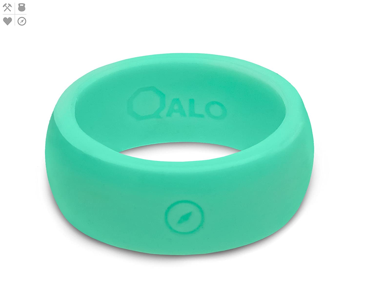 B safety wedding band Amazon com QALO Silicone Rings For Men Safe Wedding Band Yoga Crossfit Rubber Ring Weight Lifting Training Exercise Fitness Firefighter