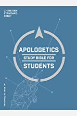 CSB Apologetics Study Bible for Students: Black Letter, Teens, Study Notes and Commentary, Ribbon Marker, Sewn Binding, Easy-To-Read Bible Serif Type Kindle Edition