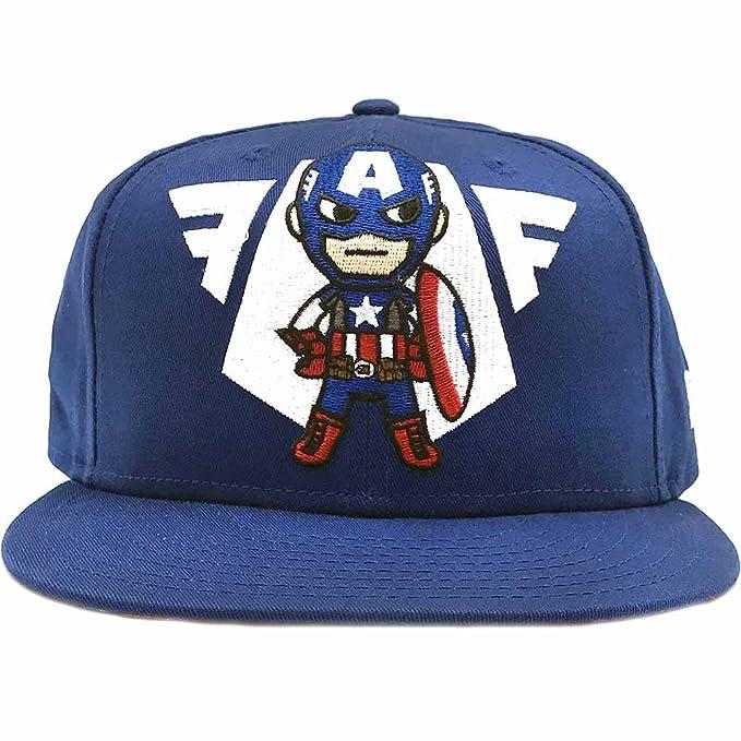 more photos deda2 9e8a1 Tokidoki New Era 9Fifty Marvel Vintage Captain America Emblem Men s Snapback  Hat  Amazon.ca  Clothing   Accessories
