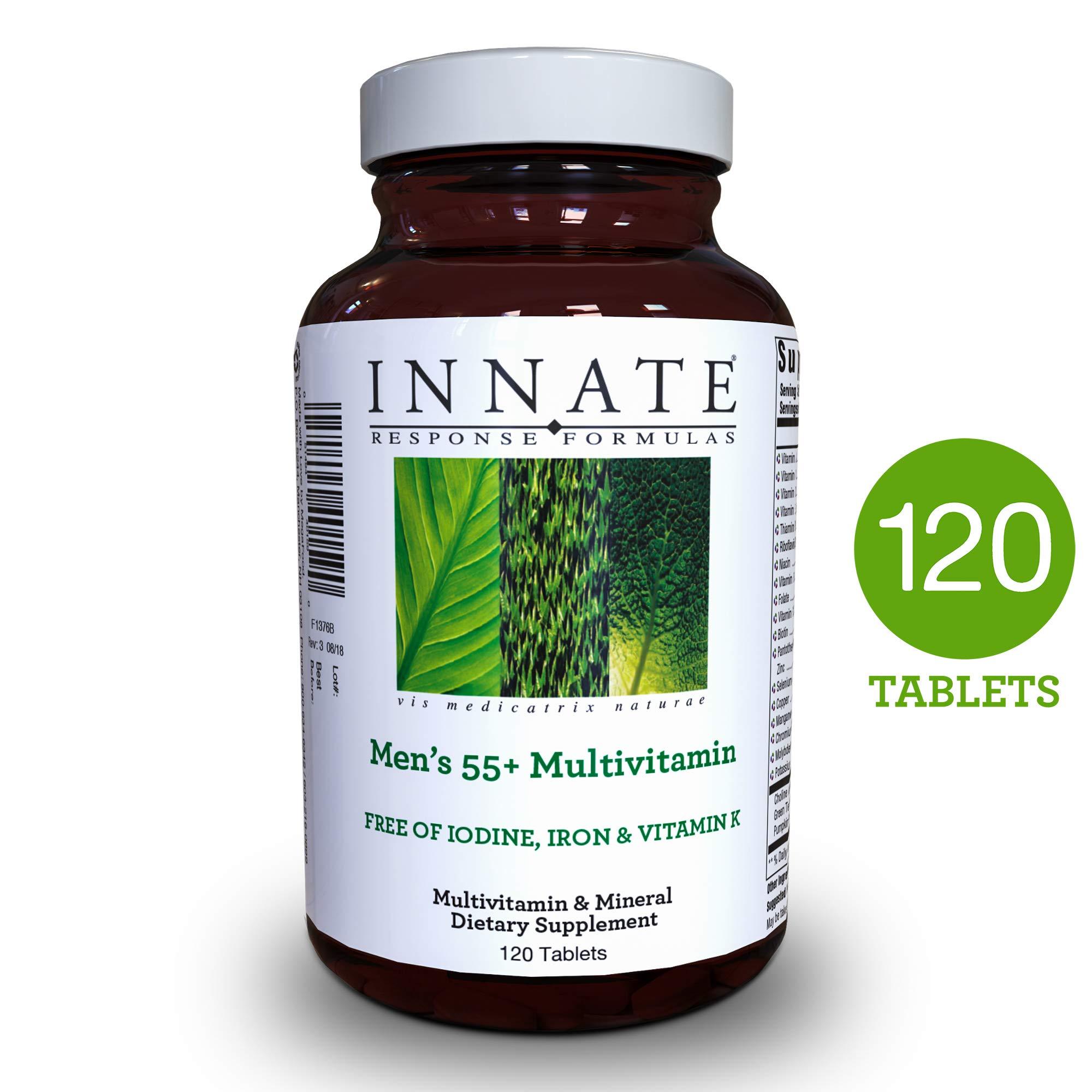 INNATE Response Formulas - Men's 55+ Multi, 120 Tablets