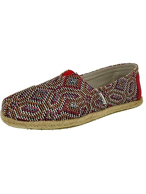 4059b933893232 TOMS Women s Classic Slip-On Flat Shoes  Toms  Amazon.co.uk  Shoes   Bags