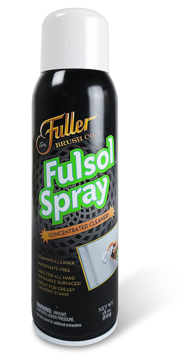 Fuller Brush Fulsol Spray - Heavy Duty Multi- Surface Degreasing Spray For Cleaning Grime & Grease - Commercial Oil Solvent For Laundry, Car Engine, Motorcycle & Kitchen