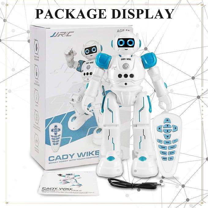 Robot para niños, Kit Smart Robot R11 con Control Remoto y Control de Gestos, Aprendizaje programable para Caminar Bailando, Cantando. Robótica Perfecta Regalos para niños y niñas (Azul): Amazon.es: Electrónica