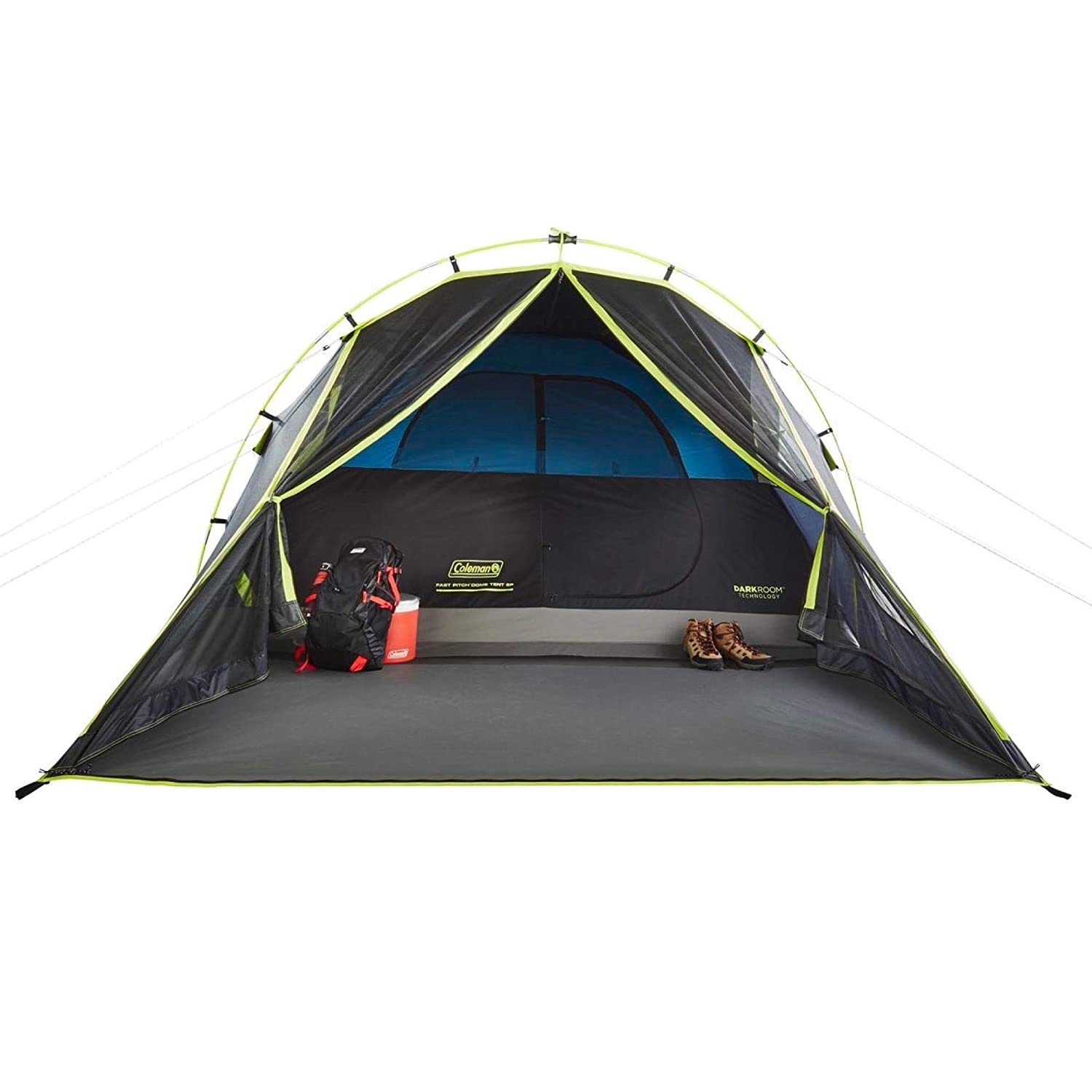 Coleman Carlsbad 4-Person Dome Tent with Screen Room Amazon.co.uk Sports u0026 Outdoors  sc 1 st  Amazon UK & Coleman Carlsbad 4-Person Dome Tent with Screen Room: Amazon.co.uk ...