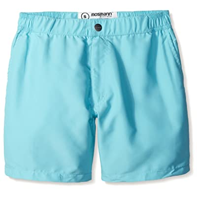 "Mosmann Australia Men's Mid 6"" Swim Shorts"