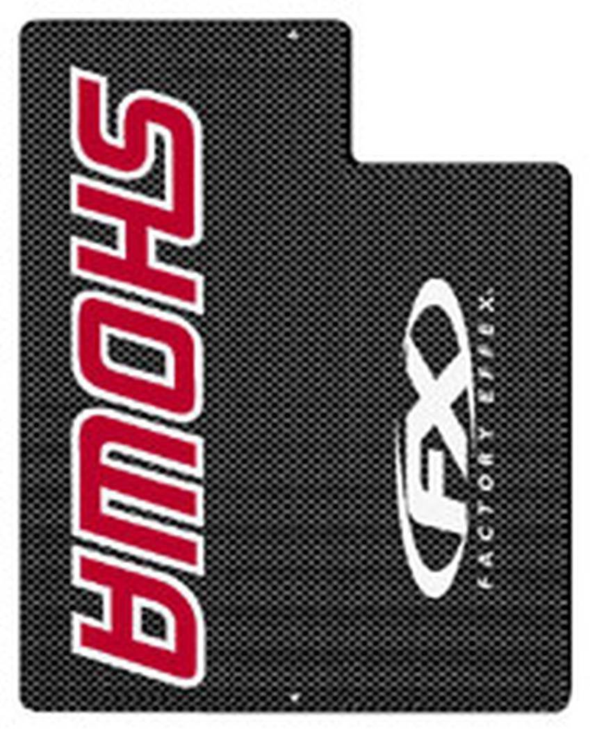 Red Upper Fork Shield Graphic Factory Effex 02-7010
