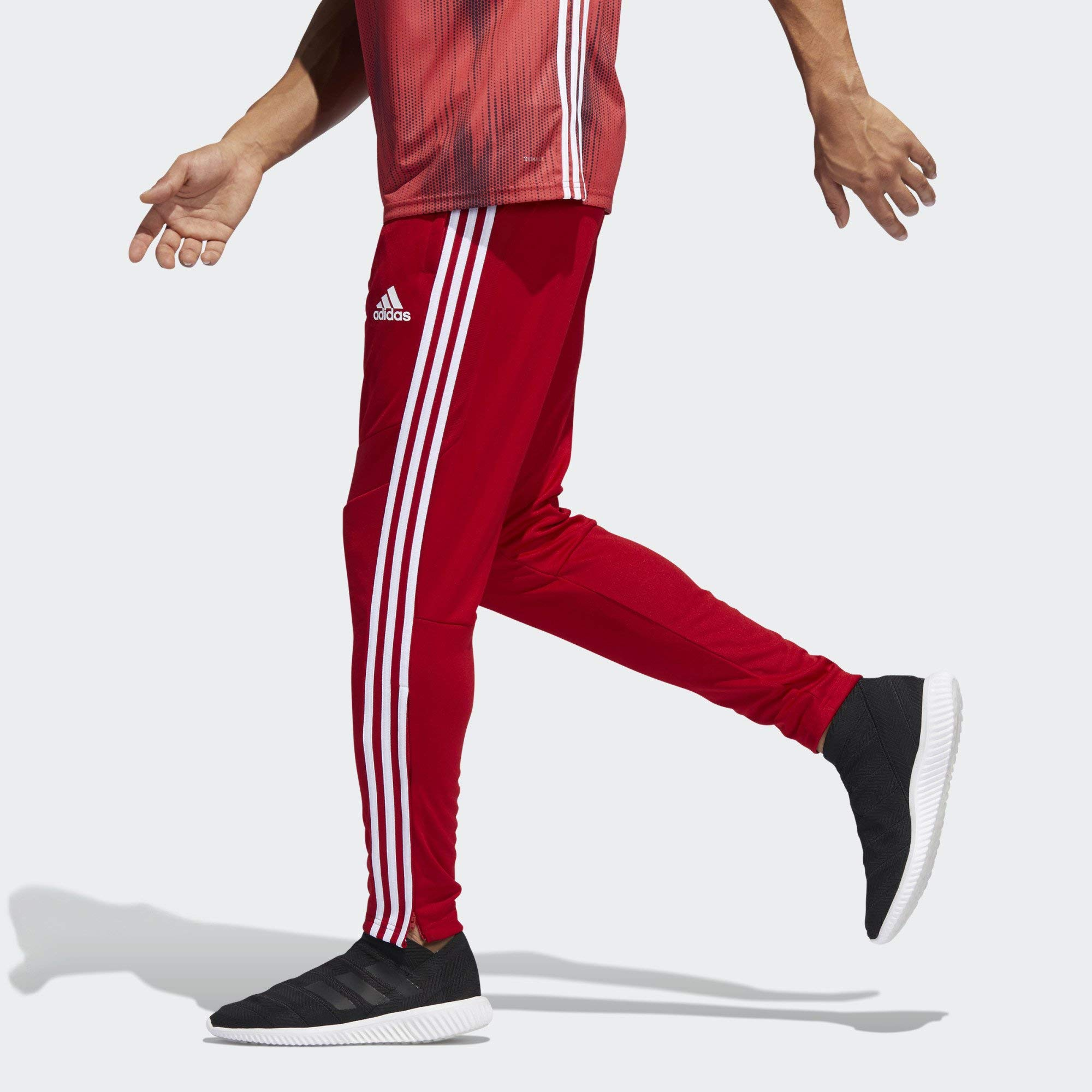 adidas Men's Soccer Tiro 19 Training Pant, Power Red/White, 3X-Large by adidas (Image #4)