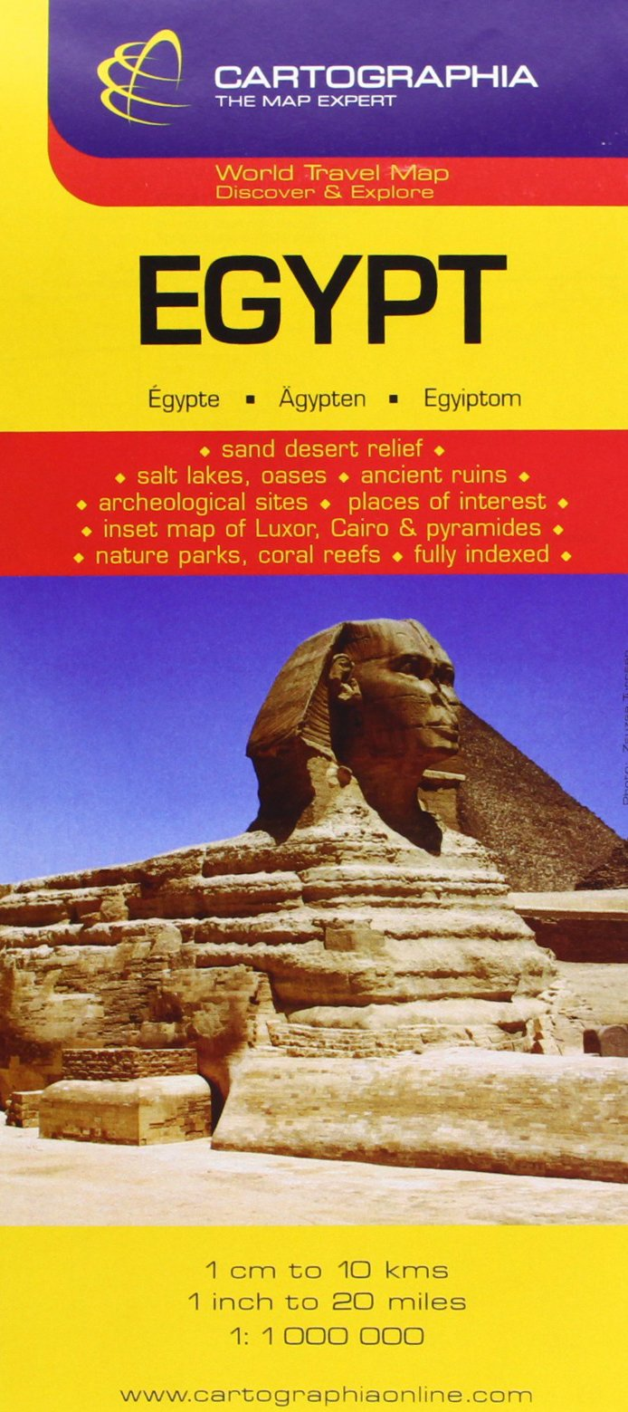 Buy egypt country map cartographia map collection michelin buy egypt country map cartographia map collection michelin national maps book online at low prices in india egypt country map cartographia map gumiabroncs Gallery