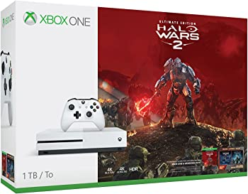 Xbox One S 1TB Halo Wars 2 Console Halo Wars 2 Bundle + $50 GC