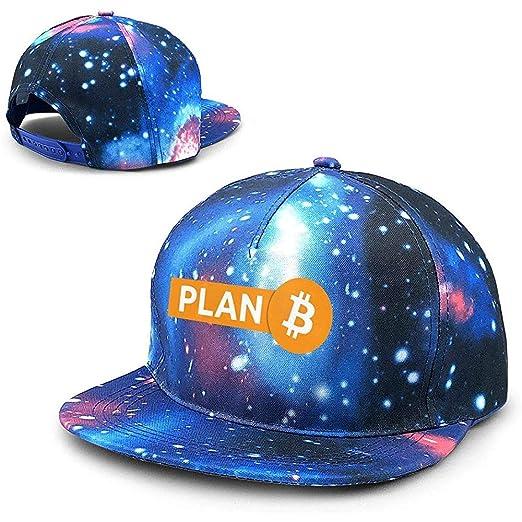 Bitcoin Plan B Unisex Starry Sky Gorras de béisbol Planas Sombrero ...