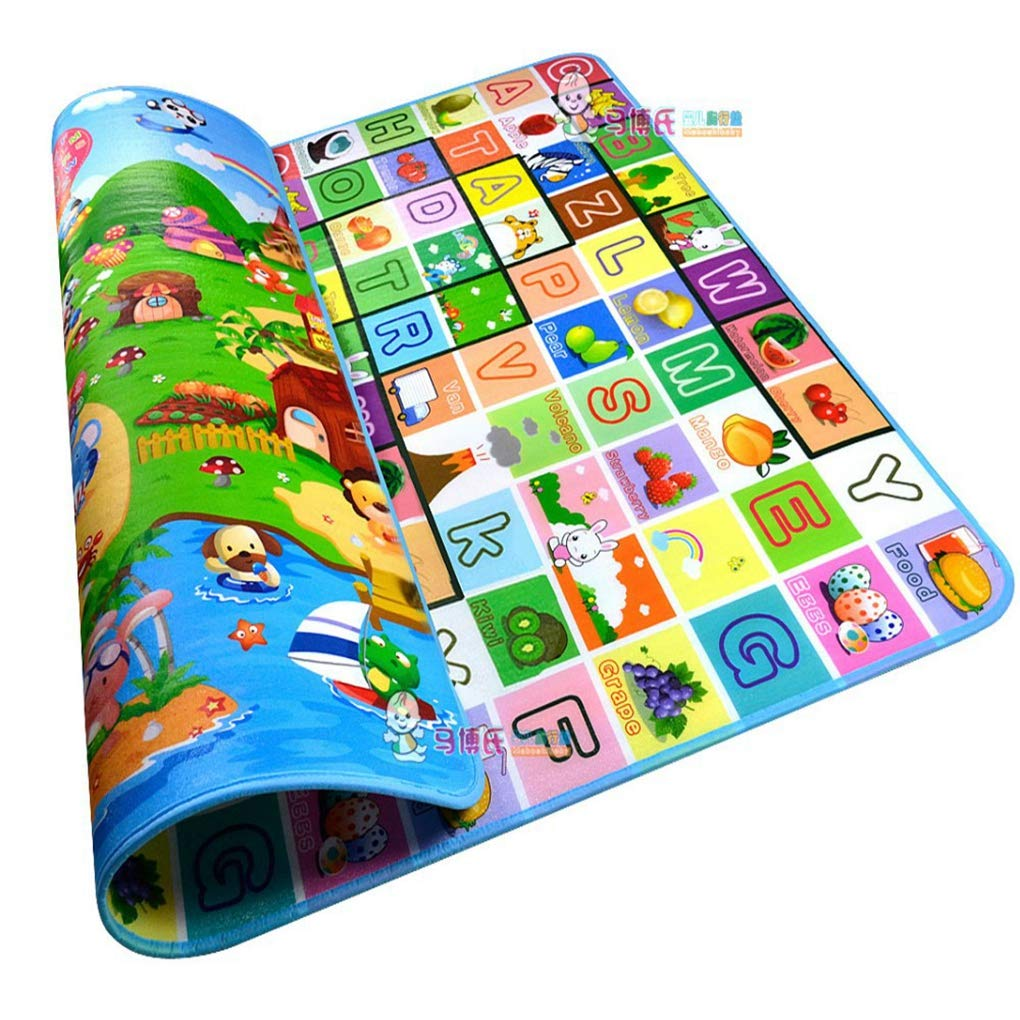 RXIN Waterproof baby crawling mat children play mat soft carpet kids game mat indoor and outdoor rug picnic mat PXD0012