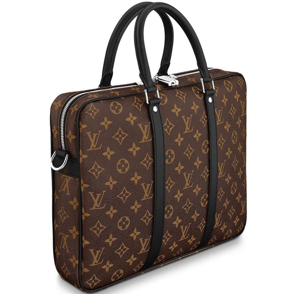 87106df2a363 Louis Vuitton Monogram Macassar Canvas Porte-Documents Voyage PM Briefcase Laptop  Bag Article  M52005  Amazon.co.uk  Shoes   Bags