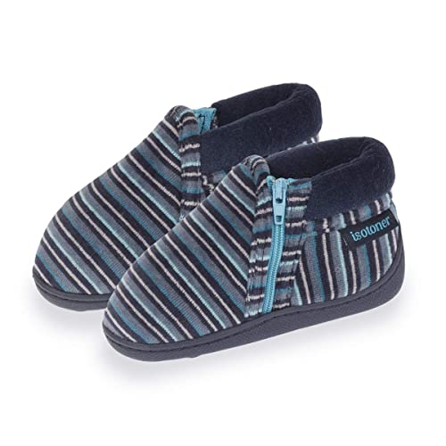 Isotoner - Zapatillas de Estar por Casa Niños, Multicolor (Multicolor), 26 EU: Amazon.es: Zapatos y complementos